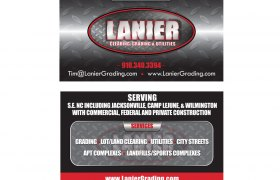 Lanier Business Card Design