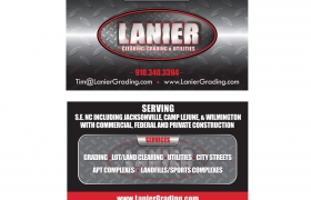 Lanier Business Card Design