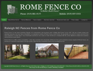 Rome Fence Co